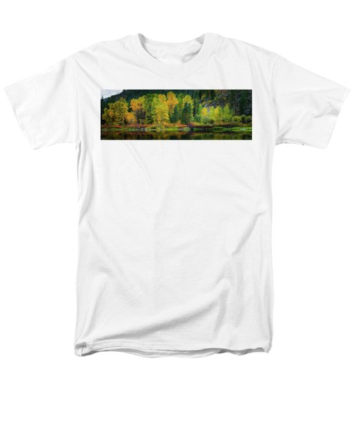 Men's T-Shirt  (Regular Fit) featuring the photograph Picturesque Tumwater Canyon by Dan Mihai