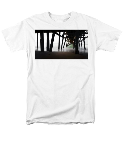 Men's T-Shirt  (Regular Fit) featuring the photograph Pier Pressure by Sean Foster
