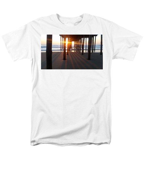 Pier Shadows Men's T-Shirt  (Regular Fit)