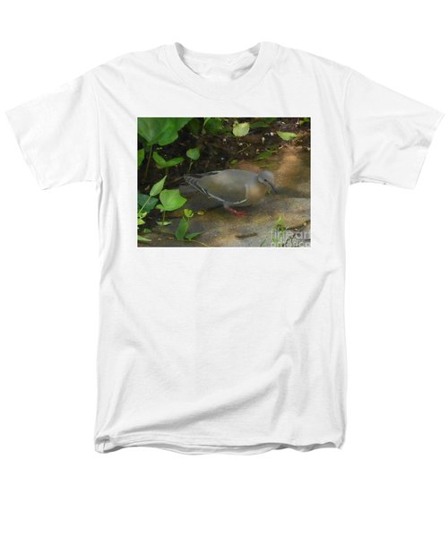 Men's T-Shirt  (Regular Fit) featuring the photograph Pigeon by Felipe Adan Lerma