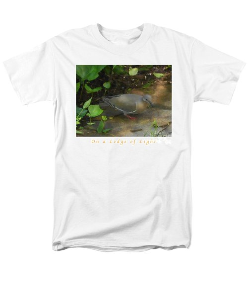 Men's T-Shirt  (Regular Fit) featuring the photograph Pigeon Poster by Felipe Adan Lerma