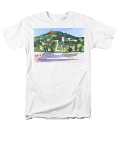 Pilot Knob Mountain W404 Men's T-Shirt  (Regular Fit) by Kip DeVore