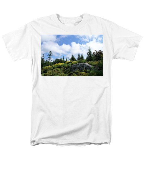 Men's T-Shirt  (Regular Fit) featuring the photograph Pines At The Top by Lois Lepisto