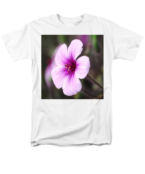 Pink Flower Men's T-Shirt  (Regular Fit) by Sumoflam Photography