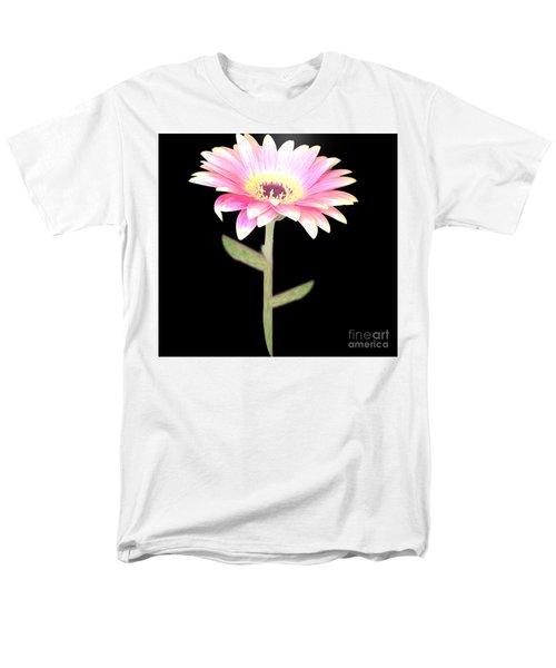 Pink Pink Delight Men's T-Shirt  (Regular Fit) by Belinda Threeths