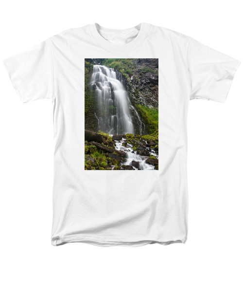 Plaikni Falls Men's T-Shirt  (Regular Fit) by Greg Nyquist