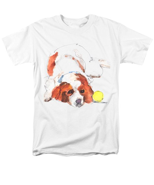 Play Ball By Kathleen Mcelwaine Men's T-Shirt  (Regular Fit) by Kathleen McElwaine