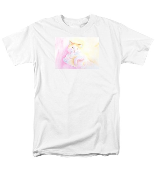 Playful Cat I Men's T-Shirt  (Regular Fit)