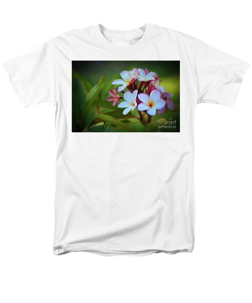 Men's T-Shirt  (Regular Fit) featuring the photograph Plumeria Sunset by Kelly Wade