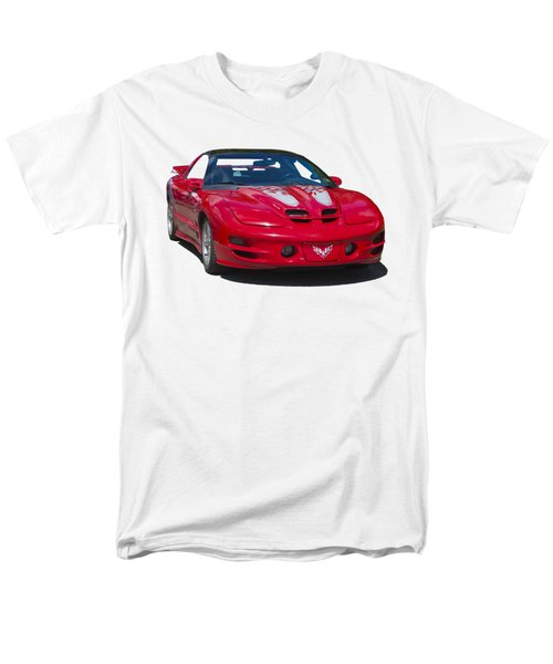 Pontiac Trans Am On Transparent Background Men's T-Shirt  (Regular Fit) by Terri Waters