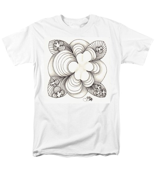 Popcloud Blossom Men's T-Shirt  (Regular Fit) by Jan Steinle