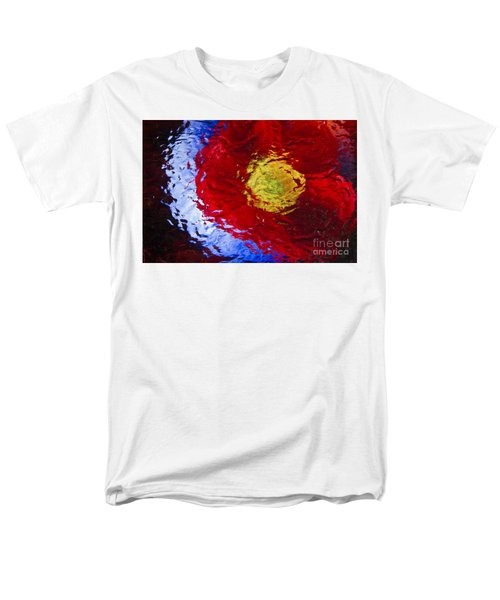 Men's T-Shirt  (Regular Fit) featuring the photograph Poppy Impressions by Jeanette French
