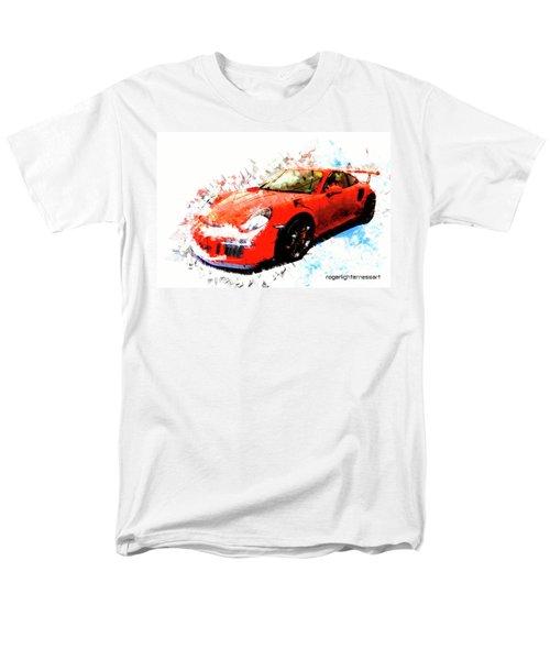 Porsche 911 Gts Men's T-Shirt  (Regular Fit) by Roger Lighterness