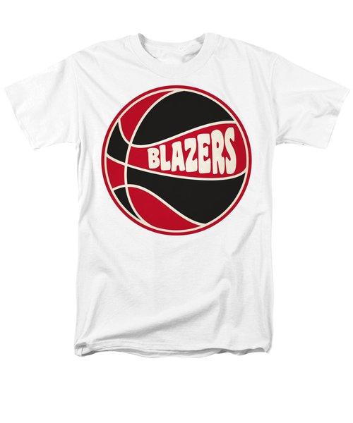Portland Trail Blazers Retro Shirt Men's T-Shirt  (Regular Fit) by Joe Hamilton
