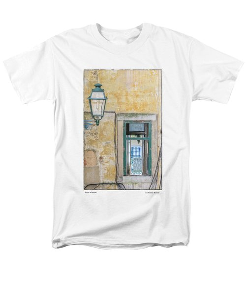 Porto Window Men's T-Shirt  (Regular Fit) by R Thomas Berner