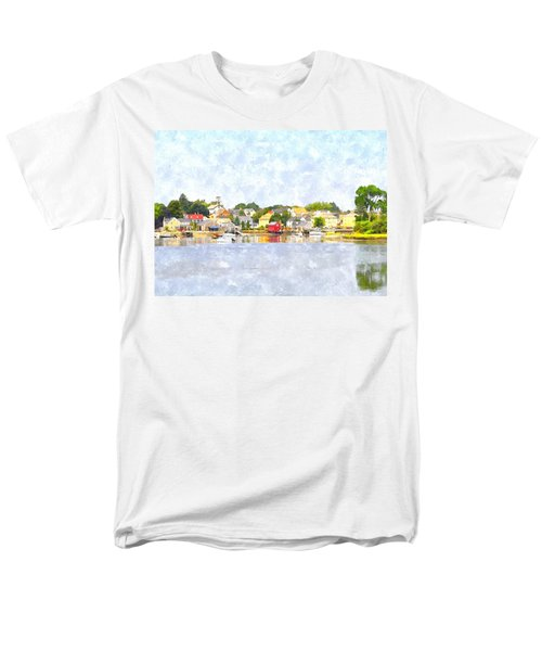 Portsmouth Nh South End Psewc Men's T-Shirt  (Regular Fit) by Jim Brage
