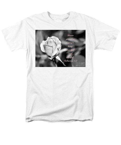 Men's T-Shirt  (Regular Fit) featuring the photograph Prayer by Debby Pueschel