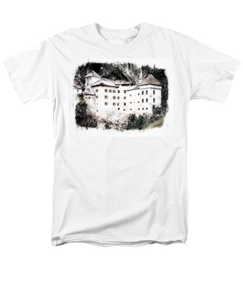 Predjama Castle Men's T-Shirt  (Regular Fit) by Joseph Hendrix