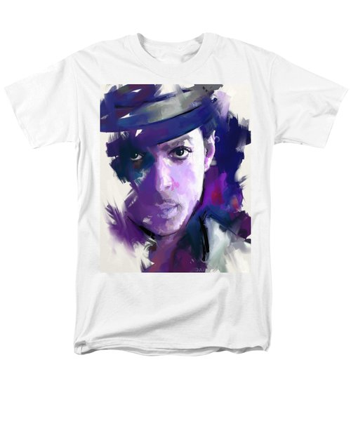 Men's T-Shirt  (Regular Fit) featuring the painting Prince by Richard Day