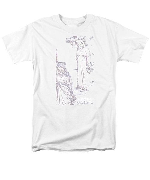 Men's T-Shirt  (Regular Fit) featuring the photograph Procession Of Faith 2 by Linda Shafer