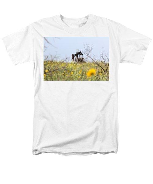Pumpjack 122 Men's T-Shirt  (Regular Fit) by Alycia Christine