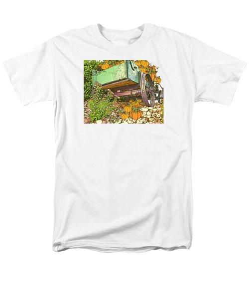 Pumpkin Harvest Men's T-Shirt  (Regular Fit) by Larry Bishop