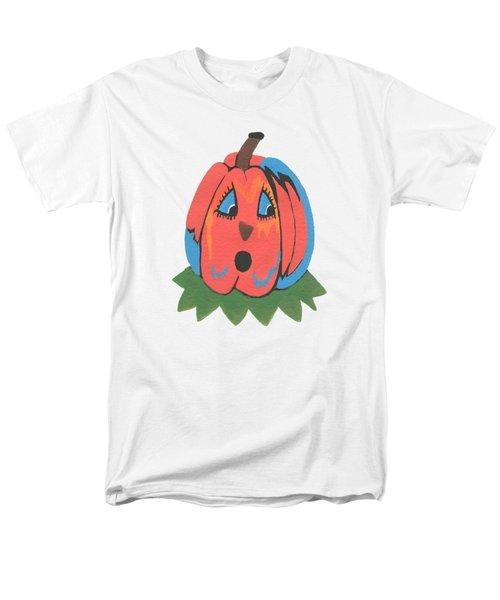 Pumpkin Men's T-Shirt  (Regular Fit) by Kathleen Sartoris