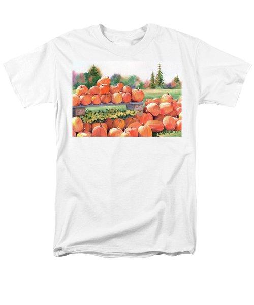 Pumpkins For Sale Men's T-Shirt  (Regular Fit)