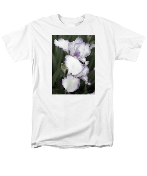 Men's T-Shirt  (Regular Fit) featuring the photograph Purple Is Passion by Sherry Hallemeier