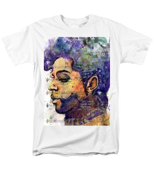 Purple Tears Men's T-Shirt  (Regular Fit) by Howard Barry
