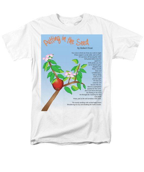 Putting In The Seed Men's T-Shirt  (Regular Fit) by Thomasina Durkay