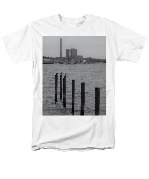 Q. River Men's T-Shirt  (Regular Fit) by John Scates