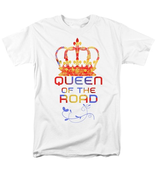 Queen Of The Road Men's T-Shirt  (Regular Fit) by Pedro Cardona