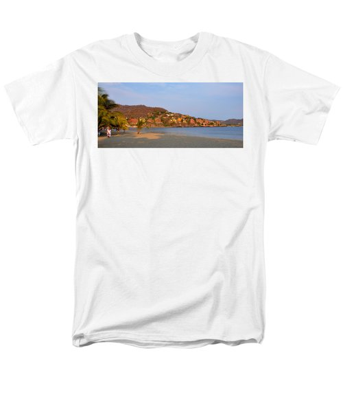 Men's T-Shirt  (Regular Fit) featuring the photograph Quiet Afternoon by Jim Walls PhotoArtist