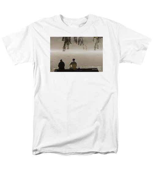 Men's T-Shirt  (Regular Fit) featuring the photograph Quiet Time by Inge Riis McDonald