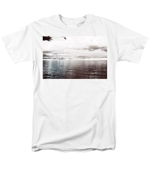 Men's T-Shirt  (Regular Fit) featuring the photograph Quiet Waters by Keith Elliott