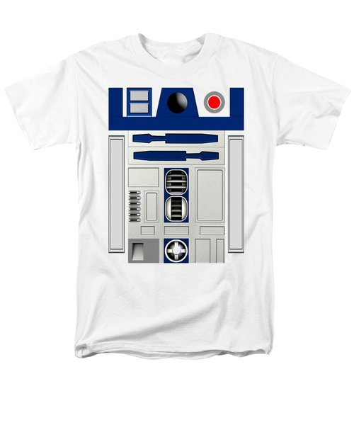 R2d2 Men's T-Shirt  (Regular Fit) by Janis Marika