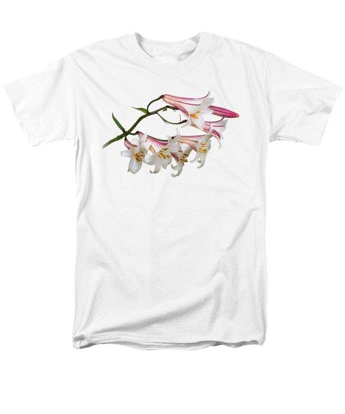Radiant Lilies Men's T-Shirt  (Regular Fit) by Gill Billington