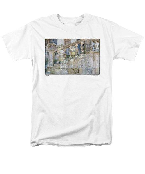 Railing Men's T-Shirt  (Regular Fit) by R Thomas Berner