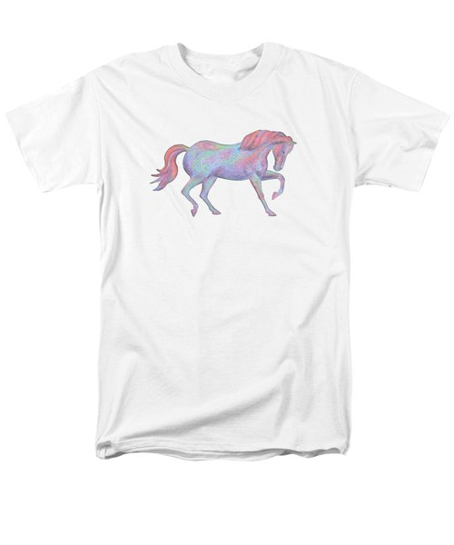 Rainbow Pony II Men's T-Shirt  (Regular Fit)