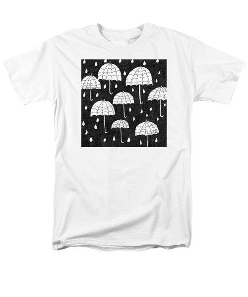 Raindrops Men's T-Shirt  (Regular Fit) by Lou Belcher