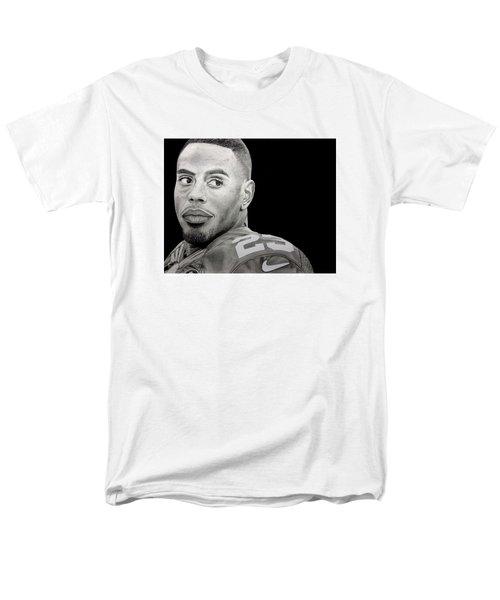 Rashad Jennings Drawing Men's T-Shirt  (Regular Fit) by Angelee Borrero