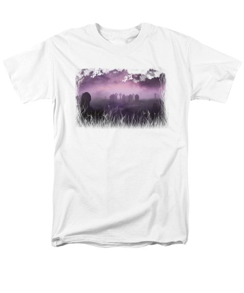 Rave In The Grave On Transparent Background Men's T-Shirt  (Regular Fit) by Terri Waters