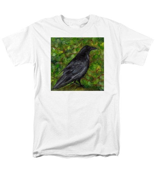 Raven In Wirevine Men's T-Shirt  (Regular Fit) by FT McKinstry