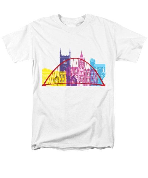 Reading Skyline Pop Men's T-Shirt  (Regular Fit) by Pablo Romero