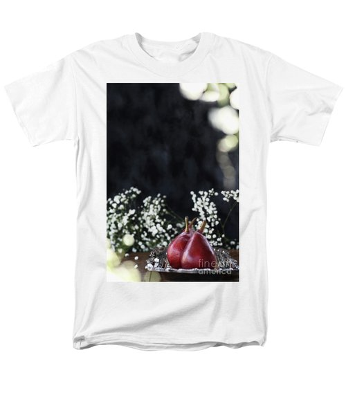 Men's T-Shirt  (Regular Fit) featuring the photograph Red Anjou Pears by Stephanie Frey