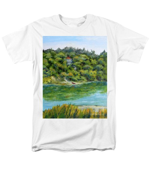 Red Canoe Men's T-Shirt  (Regular Fit) by William Reed