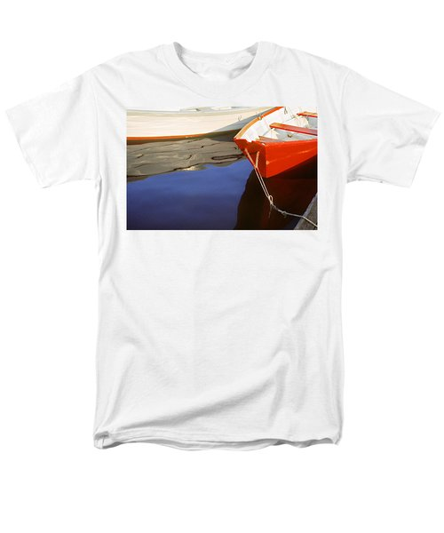 Men's T-Shirt  (Regular Fit) featuring the photograph Red Dory Photo by Peter J Sucy