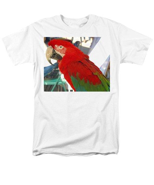 Red Head Men's T-Shirt  (Regular Fit) by Barbara McDevitt