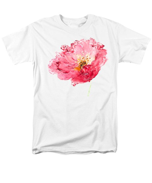 Red Poppy Painting Men's T-Shirt  (Regular Fit) by Jan Matson